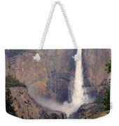 Yosemite Falls Vertical Weekender Tote Bag