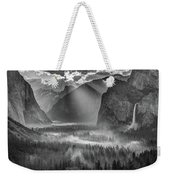 Yosemite Morning Sun Rays Weekender Tote Bag