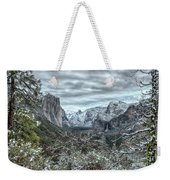 Yosemite National Park Tunnel View  Weekender Tote Bag