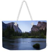 Yosemite Twilight Weekender Tote Bag