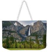 Yosemite Upper And Lower Falls Weekender Tote Bag