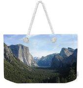 Yosemite Valley 1 Weekender Tote Bag