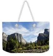 Yosemite Valley Weekender Tote Bag