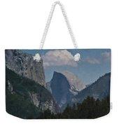 Yosemite View Of El Capitan And Half Dome Weekender Tote Bag