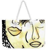 You And Me Sepia Tones Weekender Tote Bag