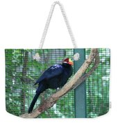 You Are My Audience - Bird Perched Weekender Tote Bag