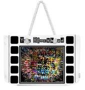 You Blockhead Poster Weekender Tote Bag
