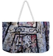 You Can - Berlin Wall  Weekender Tote Bag