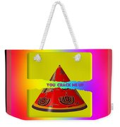 Abstract You Crack Me Up Weekender Tote Bag