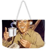 You Dish It Up We'll Dish It Out  Weekender Tote Bag