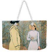 You Don't Want To Stay There Weekender Tote Bag