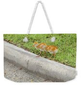 You First. No You Go First Weekender Tote Bag