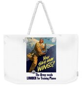 You Give Him Wings - Ww2 Weekender Tote Bag