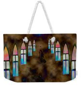 You Pray For Weekender Tote Bag
