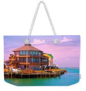 You Should See The Sunset Weekender Tote Bag