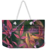 You Take My Breath Away Weekender Tote Bag