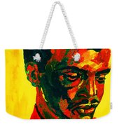 Young African Man Weekender Tote Bag