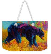 Young And Restless - Black Bear Weekender Tote Bag
