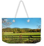 Young And Swain Road, Gilford N H Weekender Tote Bag