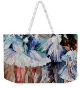 Young Ballerinas Weekender Tote Bag