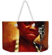 Young Black Female Teen 1 Weekender Tote Bag