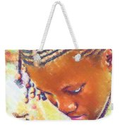 Young Black Female Teen 2 Weekender Tote Bag