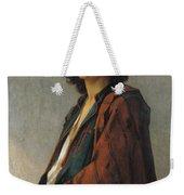 Young Bohemian Serb Weekender Tote Bag by Charles Landelle