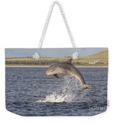 Young Bottlenose Dolphin - Scotland #13 Weekender Tote Bag