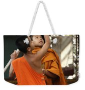 Young Buddhist Monks Laos Weekender Tote Bag