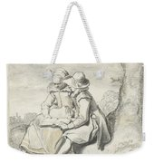 Young Couple Weekender Tote Bag
