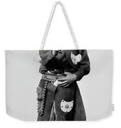 Young Cowboy Aims To Please Weekender Tote Bag