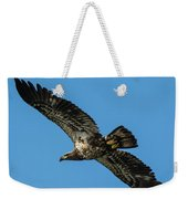 Young Eagle Color Weekender Tote Bag