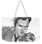 Young Elvis Weekender Tote Bag