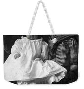 Young Ernest Lawrence And Brother, 1904 Weekender Tote Bag