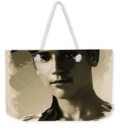 Young Faces From The Past Series By Adam Asar - Asar Studios, No 1 Weekender Tote Bag