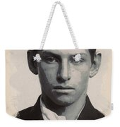 Young Faces From The Past Series By Adam Asar - Asar Studios, No 3 Weekender Tote Bag