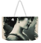 Young Faces From The Past Series By Adam Asar, No 103 Weekender Tote Bag