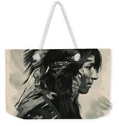 Young Faces From The Past Series By Adam Asar, No 108 Weekender Tote Bag