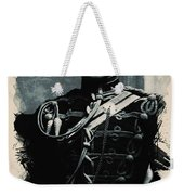 Young Faces From The Past Series By Adam Asar, No 111 Weekender Tote Bag