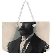 Young Faces From The Past Series By Adam Asar, No 113 Weekender Tote Bag