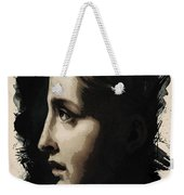Young Faces From The Past Series By Adam Asar, No 117 Weekender Tote Bag
