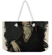 Young Faces From The Past Series By Adam Asar, No 12 Weekender Tote Bag