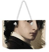 Young Faces From The Past Series By Adam Asar, No 13 Weekender Tote Bag