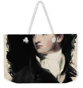 Young Faces From The Past Series By Adam Asar, No 16 Weekender Tote Bag