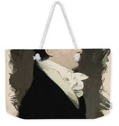 Young Faces From The Past Series By Adam Asar, No 20 Weekender Tote Bag
