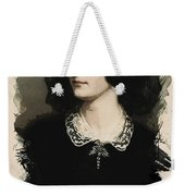 Young Faces From The Past Series By Adam Asar, No 23 Weekender Tote Bag