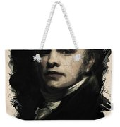 Young Faces From The Past Series By Adam Asar, No 25 Weekender Tote Bag