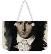 Young Faces From The Past Series By Adam Asar, No 27 Weekender Tote Bag