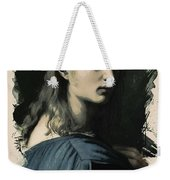 Young Faces From The Past Series By Adam Asar, No 32 Weekender Tote Bag