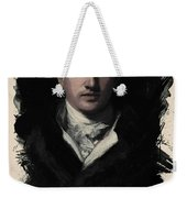 Young Faces From The Past Series By Adam Asar, No 34 Weekender Tote Bag